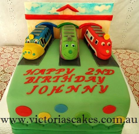 Chuggington Train Cake Topper Birthday Party Supplies Toys Favors - Chuggington birthday cake