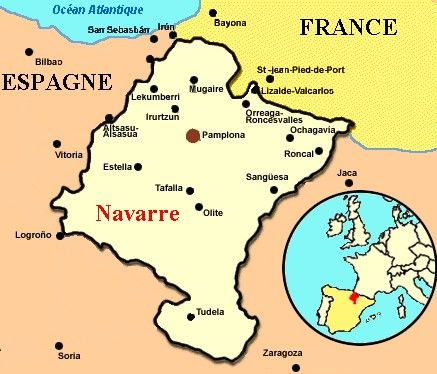 Map of France and Navarre The Massacre at Paris Geography