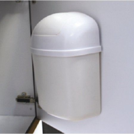 Camco Cabinet Mount Trashcan Mountable Trash Bin For Cabinet Doors And Tight Places Won T Move Out Of Place During Travel Perfect For Rvs Campers And More Camco Trash Bins Cabinet Doors