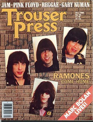 Trouser Press (I still have this one)