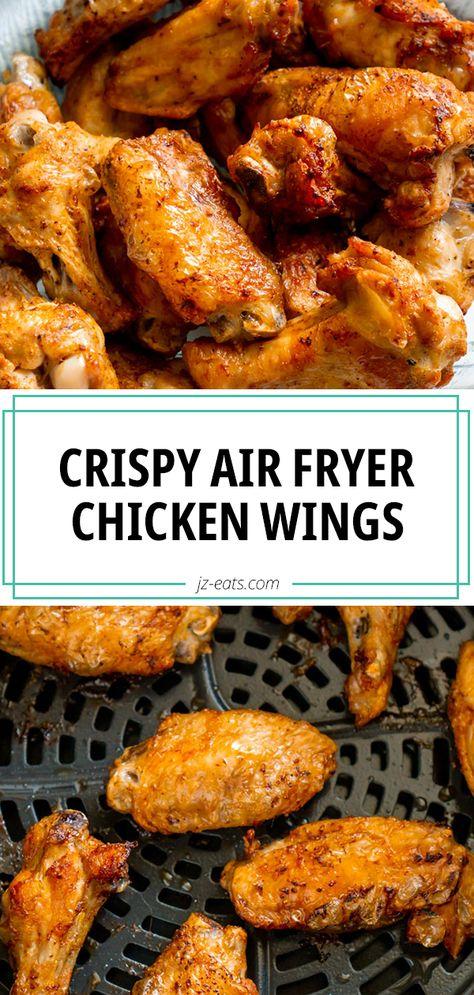Extra Crispy Air Fryer Chicken Wings