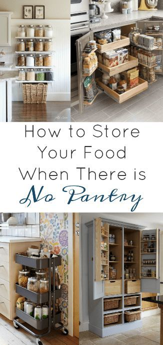 Bluefield Avenue Page 2 Of 4 Making A House A Home In 2020 Pantry Furniture Diy Pantry No Pantry Solutions