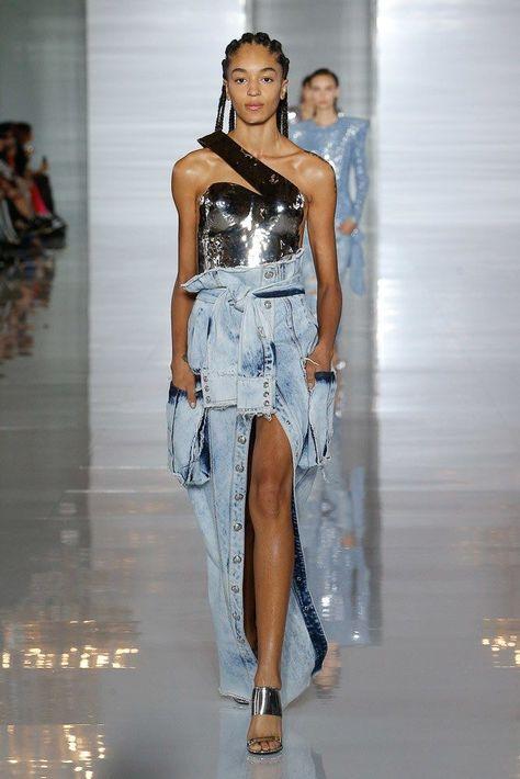 Balmain Printemps/été Womenswear - Fashion Week, Page 91 ( France - look