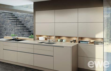 Vida 01-C Vida 01 sand colour wild oak Interior Pinterest - küchenzeile 240 cm mit geräten