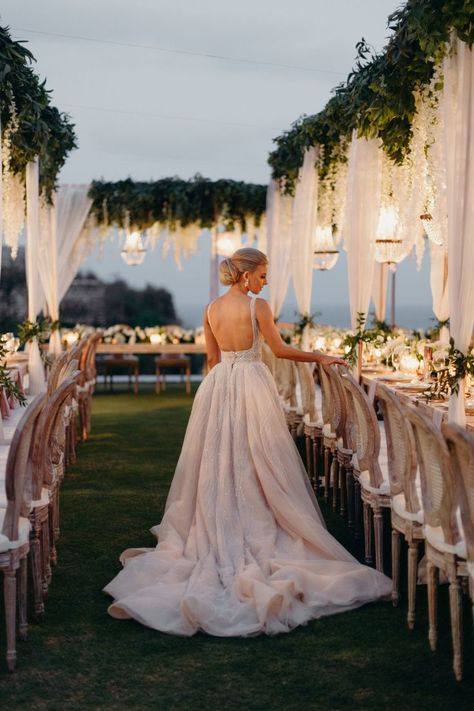 Hannah Polites Ties the Knot in STUNNING Bali Affair | Design & Planning : @global_weddings Luxury Furniture Rentals: @balieventhire Wedding Gowns: @pallascouture Cinematography: @pointonedesigns | #bridalgown #bridal #weddingdress #weddinggown #beautifulbride #weddingdressinspiration #weddinginspiration #realwedding