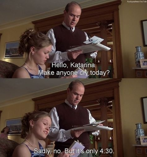 1001 Movie Quotes - The Best Movie Quotes. We speak Movie Quotes Love Movie, Movie Tv, Teen Movies, Cute Movie Scenes, Perfect Movie, Cult Movies, Indie Movies, Action Movies, Funny Memes