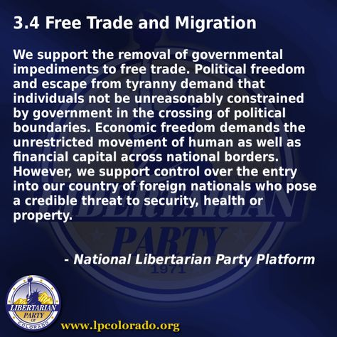 Free Trade and Migration
