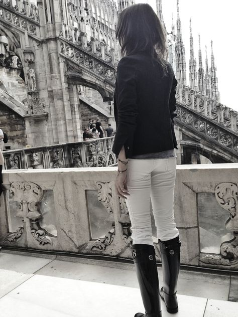I You Milano My Favorite Place On Top Of The Duomo レイン