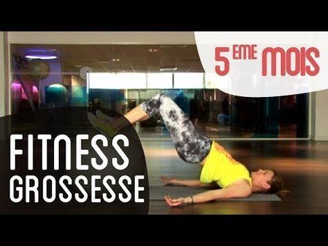 Gardez la forme même pendant votre grossesse !! VIDEO fitness 5ème mois de grossesse avec un ballon Swiss Ball