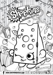 Shopkins Colouring Page - Get Coloring Pages | 300x211