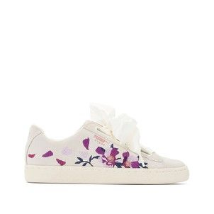 PumaShoes Heart Baskets Suede Flowery Wn mnwOyvN80