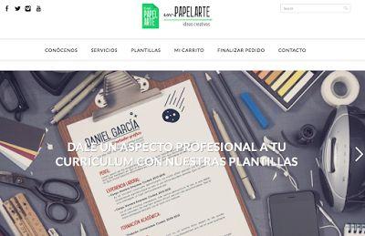 AYUDA PARA MAESTROS: EmPapelArte - Web para dar un aspecto profesional a nuestro currículum
