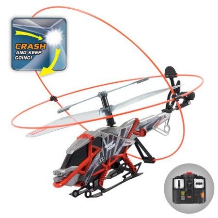Air Hogs Heli Cage Ast Red Remote Control Boat Heli Radio Control