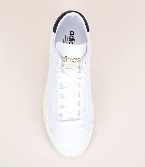 adidas court vantage femme blanche