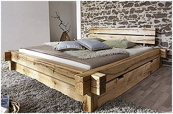 Qualitat Bett Mit Matratze 140x200 In 2020 Bed Design Bedroom Furniture Inspiration Rustic Bedroom Furniture