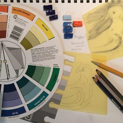 Andamento Drawing For Mosaic
