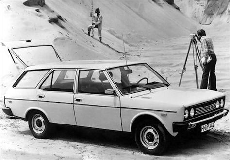 1971 Fiat 131 Mirafiori Estate Car Fiat Concept Cars European Cars