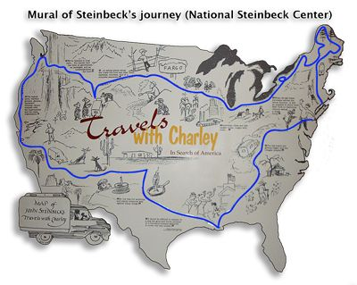 travels charley in search of america by john steinbeck travels charley in search of america by john steinbeck road trips and books