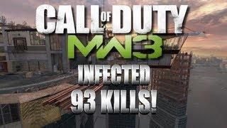 93 kill Infected Game on Overwatch Mw3 DLC Map Pack #2