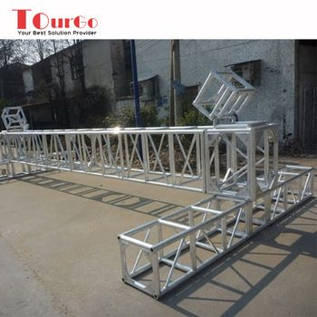 Tourgo 12 Inch Aluminum Square Box Truss Aluminum Truss Roof System Stage Lighting Truss Lighting Truss Roofing Systems Event Solutions