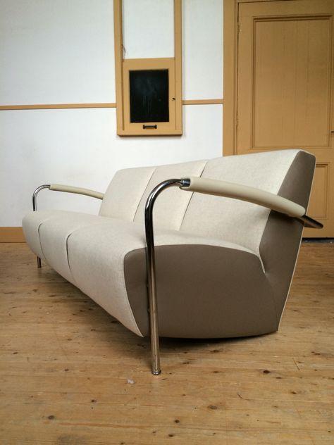 3 Zits Bank Design.Leolux Scylla 3 Zits Bank Design Gerard Vollenbrock Uitgevoerd