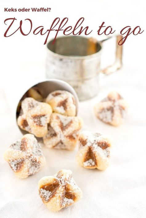 Photo of Waffeln to go Rezept – Waffelkekse oder kleine Kuchen