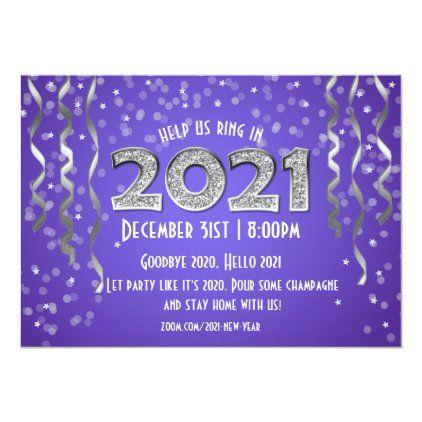 2021 In Diamonds New Year S Eve Invitation Zazzle Com New Years Eve Invitations New Years Eve New Year S Eve Celebrations