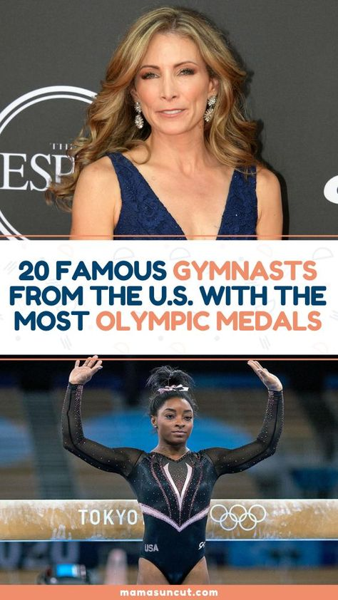 With the Olympics around the corner, here's a list of the 20 famous gymnasts from the U.S. who have the most Olympic medals.