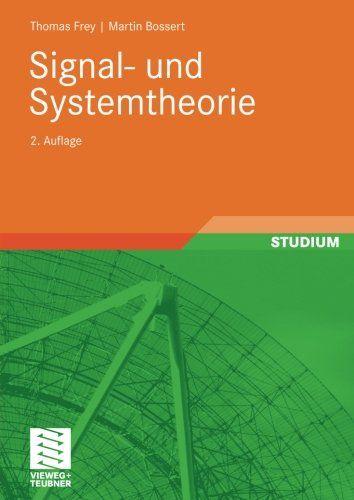 Signal Und Systemtheorie Signal Und Systemtheorie Theorie Lesen Studium