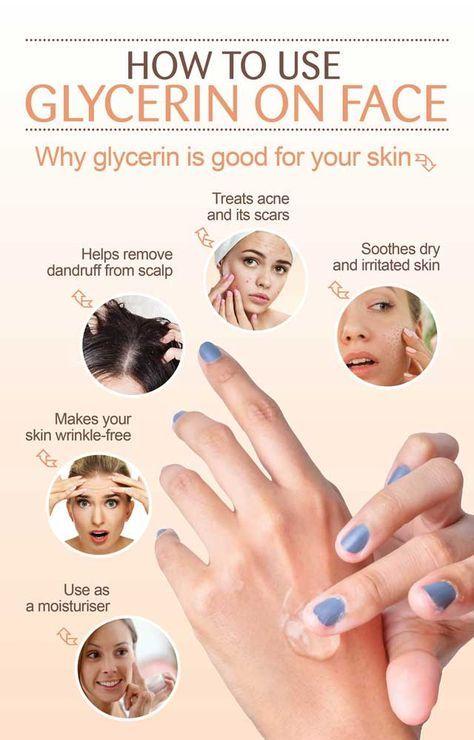 How To Use Glycerin On Face Glycerin Face Face Skin Care Face Skin