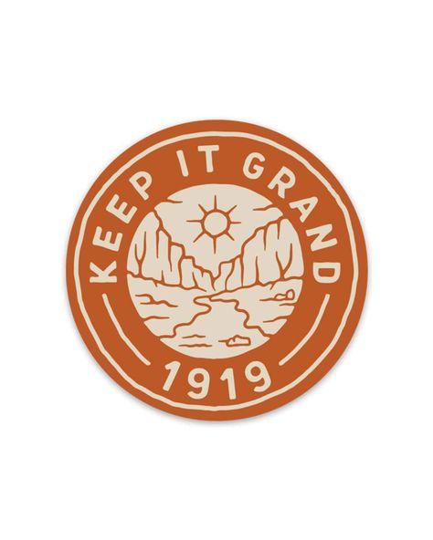 Grand 1919 | Sticker