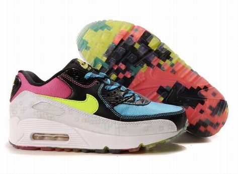 Women Nike Air Max 90 White Cyan 325213 013 | Nike air max