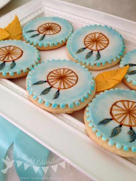 In Flight Party Ideas: Dreamcatcher Dessert Table Inspiration