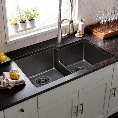 Blanco Performa 33 X 19 2 Basin Undermount Kitchen Sink Wayfair Bestkitcheninterior Best Kitchen Sinks Kitchen Interior Undermount Kitchen Sinks
