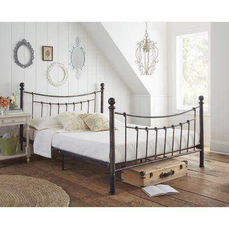 Premier Abbey Metal Platform Bed Frame With Bonus Base Support