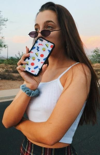 separation shoes fecba b4c96 Emma Chamberlain iPhone 6/7/8 Case in 2019 | Outfit Inspo | Emma ...