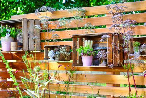 Décorer un petit jardin en 5 idées originales   Deco petit ...