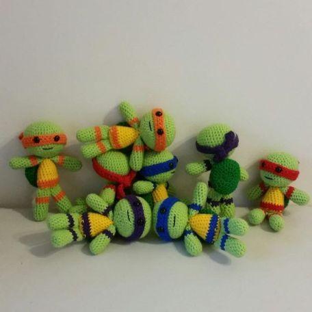 Free Crochet Pattern Teenage Mutant Ninja Turtles Crochet Ninja