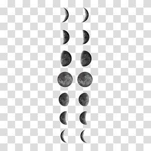 Lunar Phase Tattoo Full Moon Lunar Calendar Moon Transparent Background Png Clipart Moon Icon Moon Artwork Sailor Moon Wands