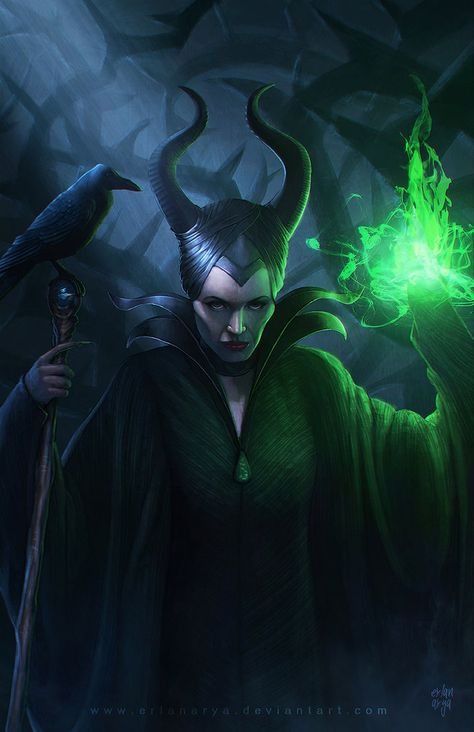 Maleficent By Erlanarya Let S Go To The Movies Art