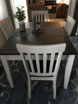 Stratford Caylie Farmhouse Dining Set Big Lots In 2021 Farmhouse Dining Farmhouse Style Kitchen Rustic Kitchen Tables