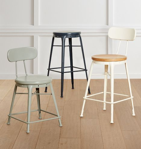 Cobb Table Stool With Back In 2020 With Images Stools With