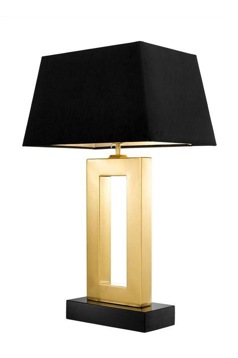 Metal Dekor Ankara Alfa Avize Imalat Atolyesi Aydinlatma Avize Proje Mimar Brass Table Lamps Geometric Table Lamp Black Lampshade