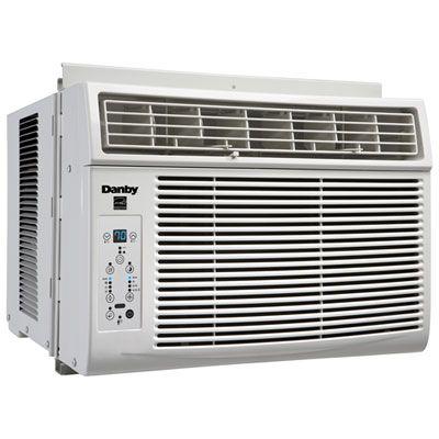 Danby Window Air Conditioner 8000 Btu White Air Conditioner