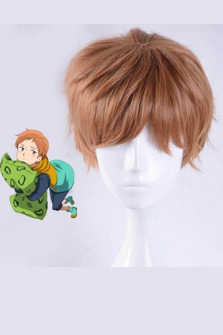 Ouran High School Host Club Uzumaki Naruto La Parure King Anime Cosplay Wig