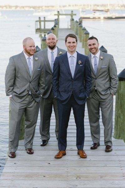 Jamestown Ri Wedding From Ashley O Dell Photography Dark Blue Suit And