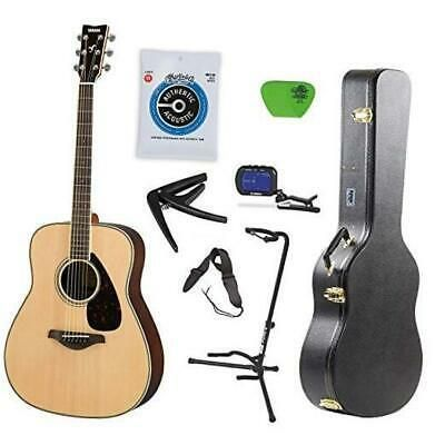 Yamaha Fg800 Acoustic Guitar Solid Top With Knox Hard Yamaha Guitar Best Acoustic Guitar Guitar