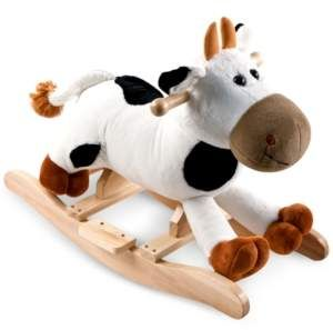 Trademark Global Happy Trails Connie Cow Plush Rocking Animal With Sounds 19 75 X 25 5 X 13 25 Sponsored Affi In 2020 Cow Easter Shopping Baby Clothes Shops