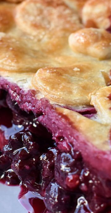 Triple Berry Summer Pie Berry Pie Recipe Summer Pie Fruit Pie