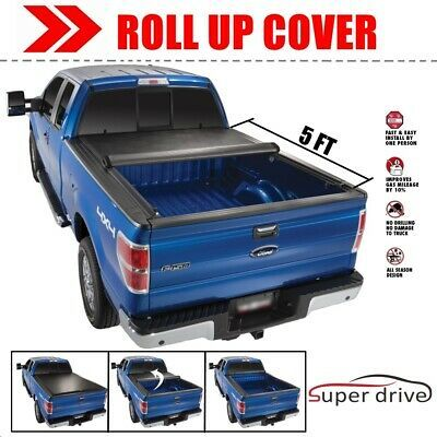 Sponsored Ebay 2005 2019 Nissan Frontier 5 Ft 60 In Short Bed Roll Up Soft Tonneau Bed Cover Tonneau Cover Toyota Tundra Cover